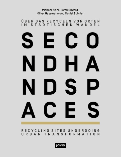Buch-Präsentation second hand spaces